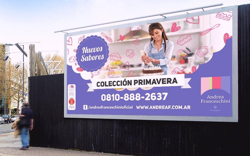 Diseño de cartel para vía pública